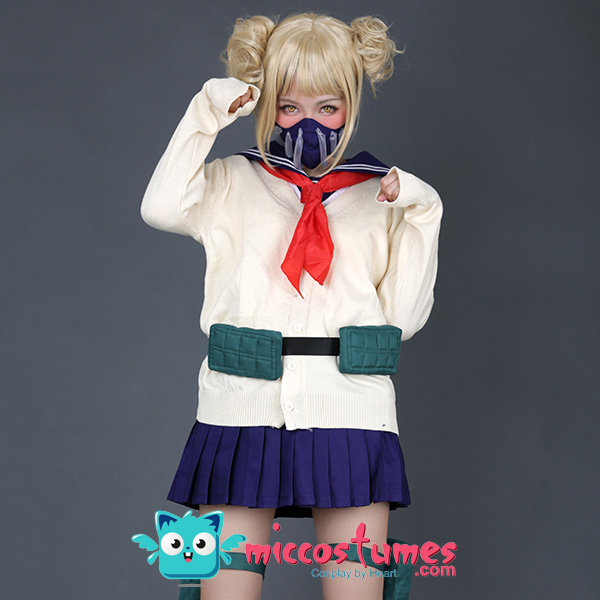 僕のヒーローアカデミア 敵連合 トガヒミコ コスプレ コスチューム 制服