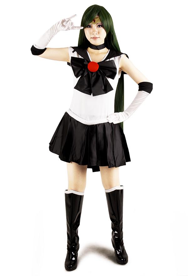 美少女戦士セーラームーン 冥王せつな セーラープルート コスプレ コスチューム
