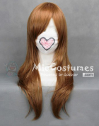 Axis Powers Hetalia Hungary Deep Brown Cosplay Wig