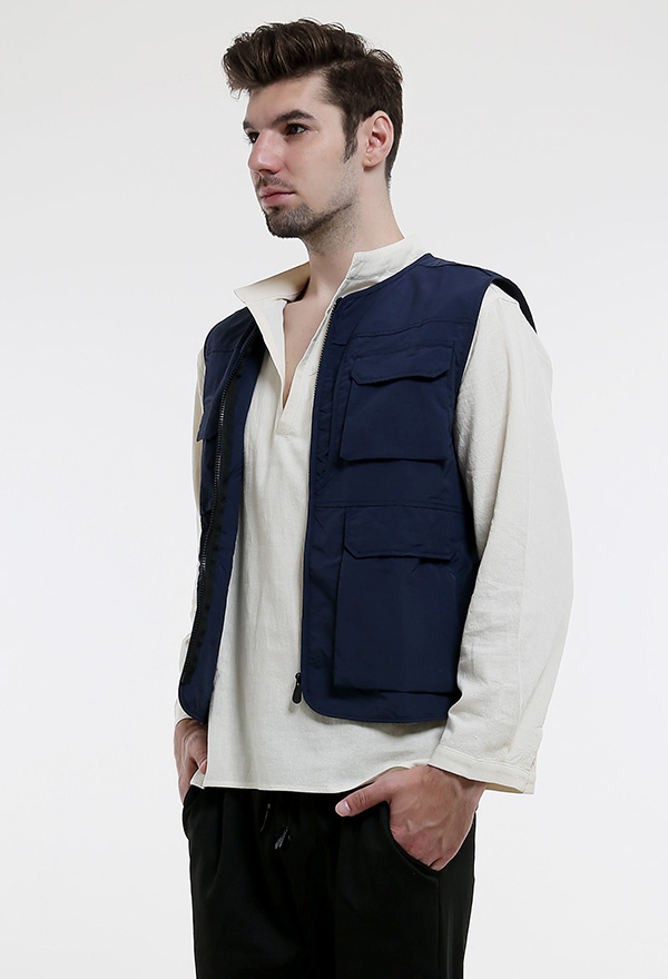 男性 コスプレ 衣装  ベストポケット付き ハロウィン衣装