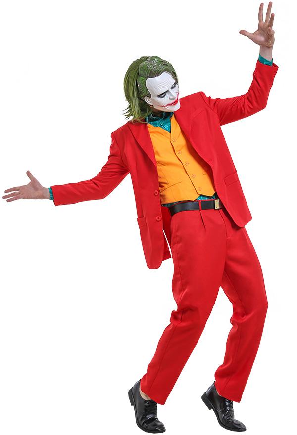 ジョーカー アーサー・フレック コスプレ衣装 スーツセット