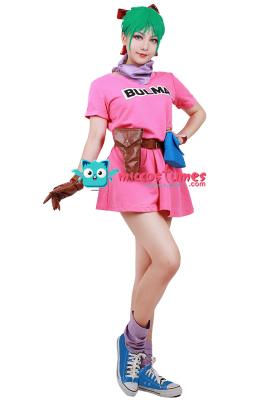ドラゴンボール ブルマ コスプレ 衣装
