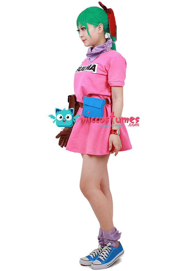 ドラゴンボール ブルマ コスプレ 衣装 ドレス