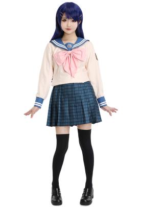 ダンガンロンパ 希望の学園と絶望の高校生 舞園さやか コスプレコスチューム JK制服