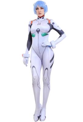 新世紀エヴァンゲリオン EVA 綾波 レイ コスプレ 衣装 プラグスーツ