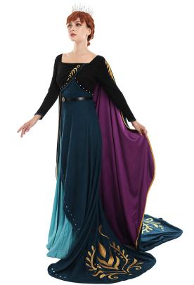アナと雪の女王2 アナ コスプレコスチューム 姫ドレス