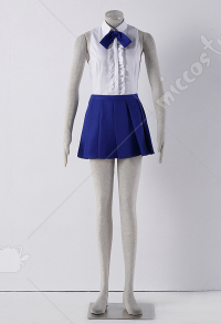Fairy Tail Erza Scarlet Cosplay Costume Casual