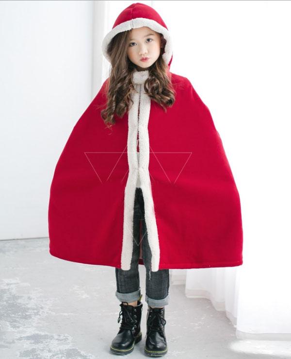 クリスマス コスプレ 衣装 サンタ マント サンタ服 コスチューム フード付き