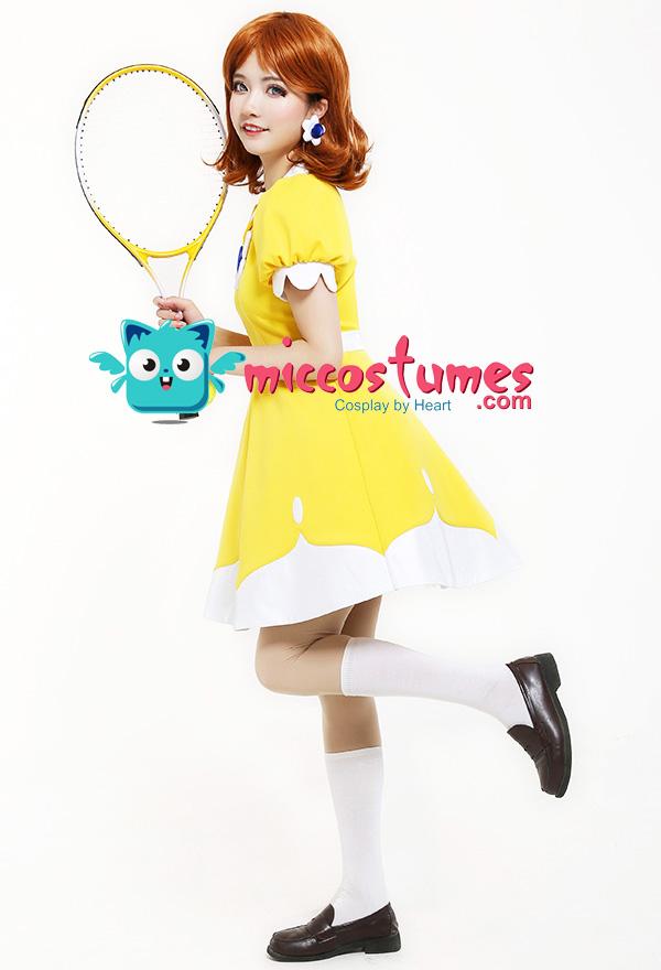 マリオ テニス N64 デイジー姫 コスプレ コスチューム ドレス