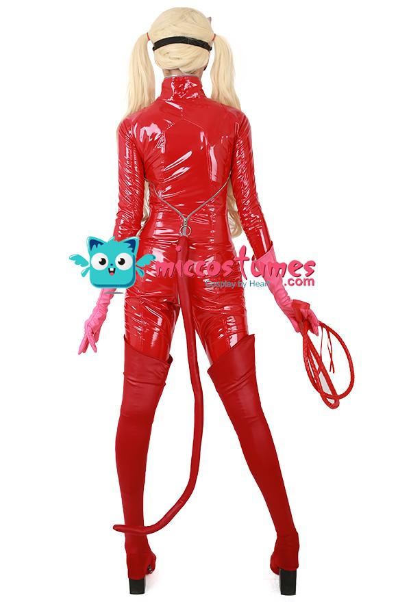 ペルソナ5 パンサー 高巻杏 心の怪盗団 コスプレ 衣装  ホイップ ブーツカバー付き