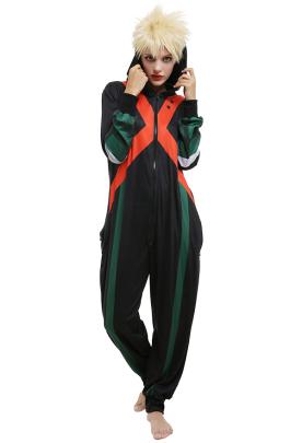 僕のヒーローアカデミア 爆豪勝己 コスプレ衣装 ワンピース パジャマ