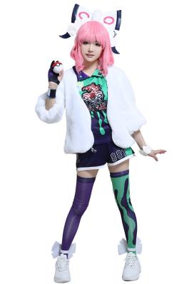 ポケットモンスター ソード・シールド クララ コスプレ衣装 運動服
