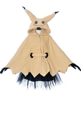 ポケットモンスター ピカチュウ ミミッキュ コスプレ コスチューム 大人  ハロウィン マント ドレス