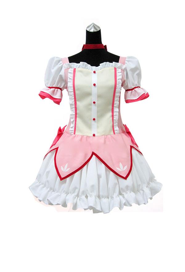 魔法少女まどか☆マギカ まどか かなめ コスプレ ドレス コスチューム