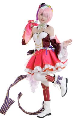 Re:ゼロから始める異世界生活 ラム コスプレ衣装 アイドル服