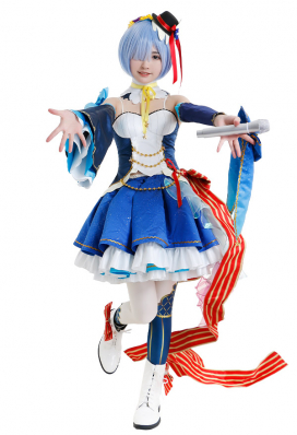 Re:ゼロから始める異世界生活 レム コスプレ衣装 アイドル服