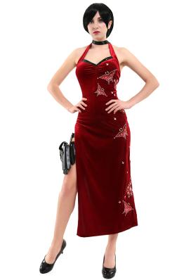 バイオハザードシリーズ エイダ・ウォン コスプレ 衣装 チャイナドレス