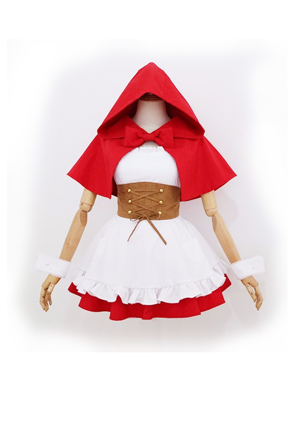 Re:ゼロ - 異世界生活を始める レム ラム ドレス 赤ずきんちゃん コスプレ コスチューム