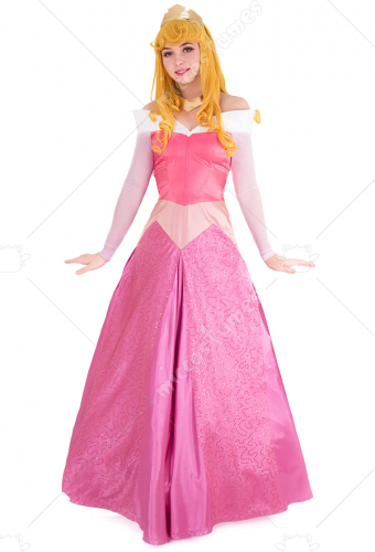 048eb060b6441 眠れる森の美女 オーロラ姫 コスプレ コスチューム ピンク ドレス