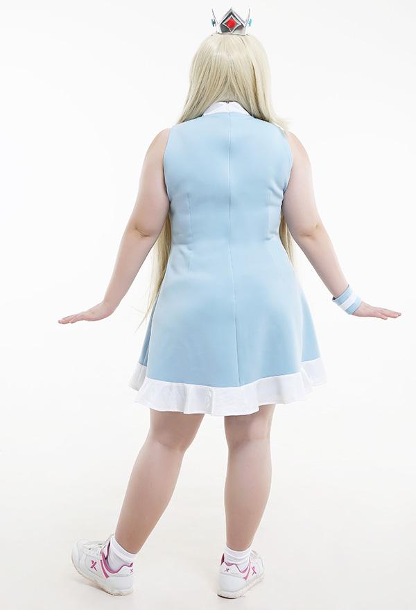 マリオテニス ロゼッタ コスプレ 衣装 プラスサイズ