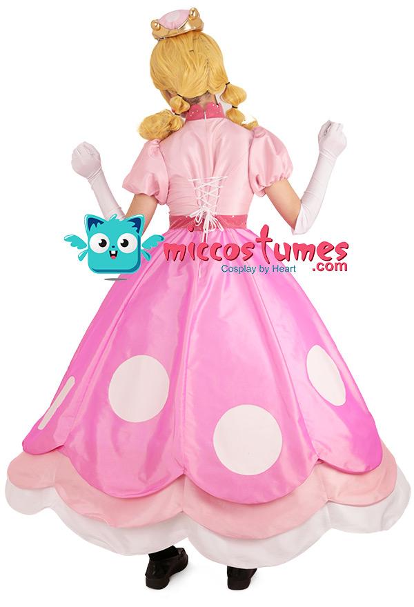 キノピオ プリンセス ピーチ姫 コスプレ 衣装 ドレス