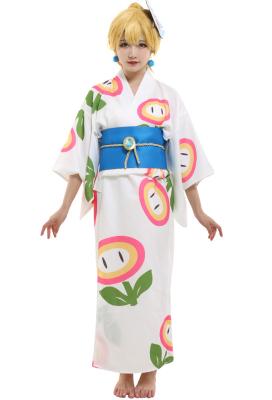 スーパーマリオオデッセイ ピーチ姫 着物 コスプレ コスチューム