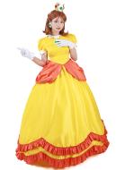スーパーマリオブラウス プリンセス デイジー コスプレ 衣装