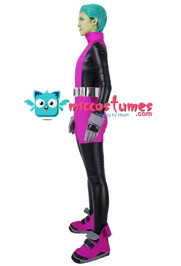 スーパーヒーロー コスプレコスチューム ジャンプスーツ  ビースト・ボーイからインスピレーションを受けた オーダーメイド