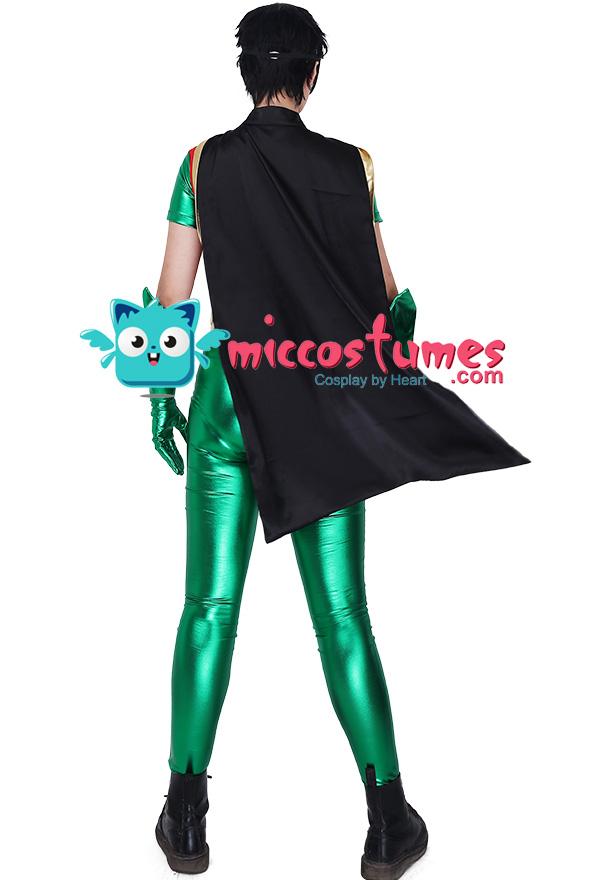 スーパーヒーロー ロビン コスプレ 衣装 男性用 コスチューム ジャンプスーツ オーダーメイド
