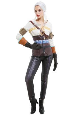 ウィッチャー3: ワイルドハント シリ コスプレ 衣装
