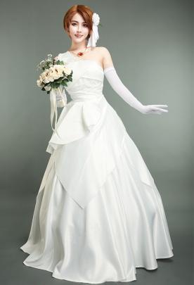 ヴァイオレット・エヴァーガーデン イザベラ・ヨークコスプレコスチューム  白いドレス