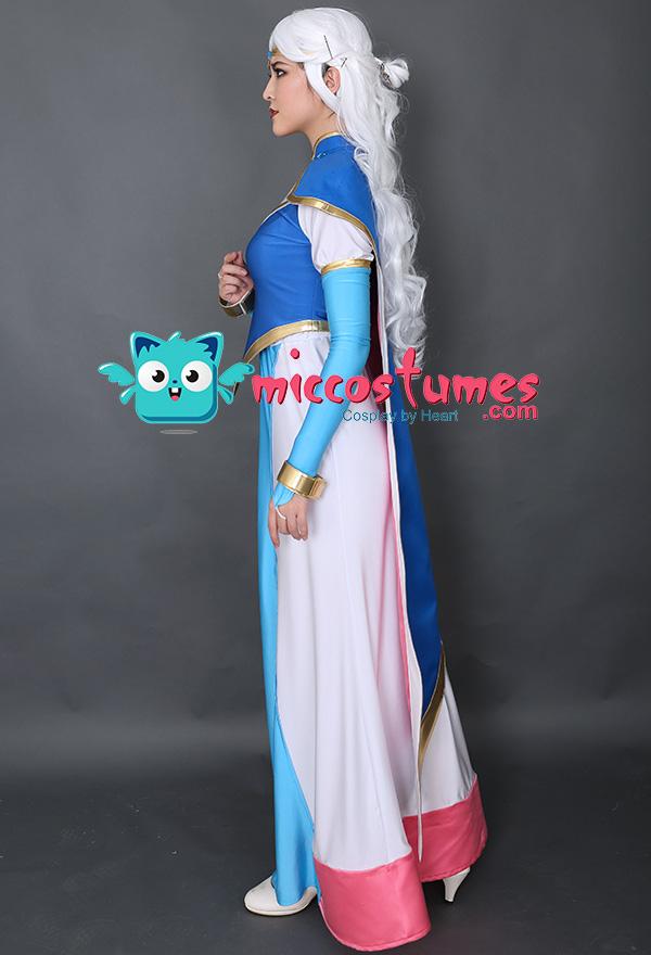 ヴォルトロン アルーラ姫 ドレス コスプレ コスチューム