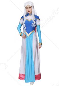 4e62124b26bc7 ヴォルトロン アルーラ姫 ドレス コスプレ コスチューム