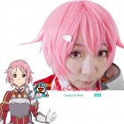 Sword Art Online Lisbeth Cosplay Wig