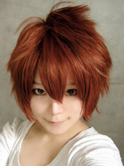 Secret Police Meiko Cosplay Wig