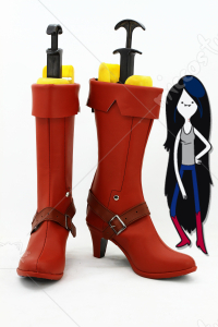 Adventure Time Marceline the Vampire Queen Cosplay Shoes