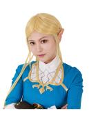 ゼルダの伝説 ブレス オブ ザ ワイルド ゼルダ姫 コスプレ ウィッグ