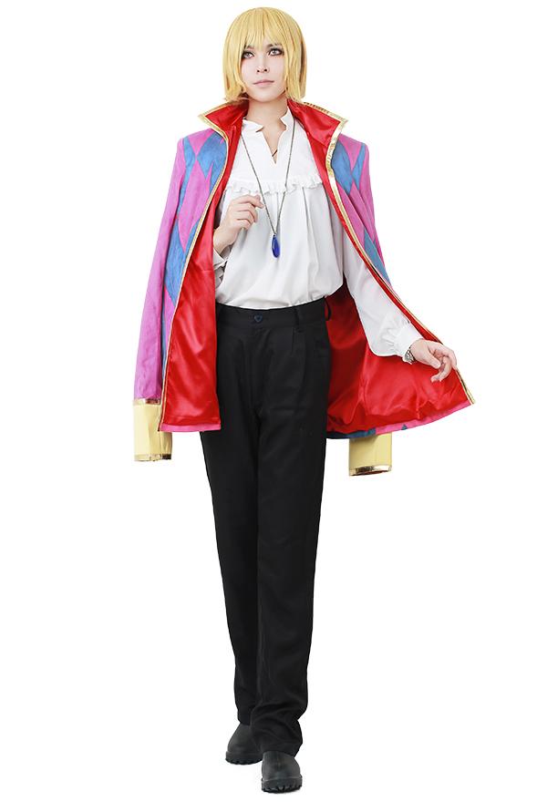 ハウルの動く城 ハウル コスプレ 衣装 ネックレス付き