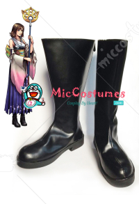 Final Fantasy X Yuna Summoned Cosplay Shoes